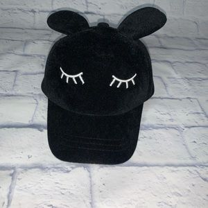 Kid Bunny Ear Velvet Hat